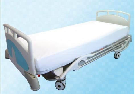 Housse de rechange en polyester enduit PVC pour matelas clinique