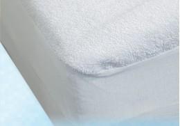 Alèse drap-housse en PVC éponge finitions élastiquées