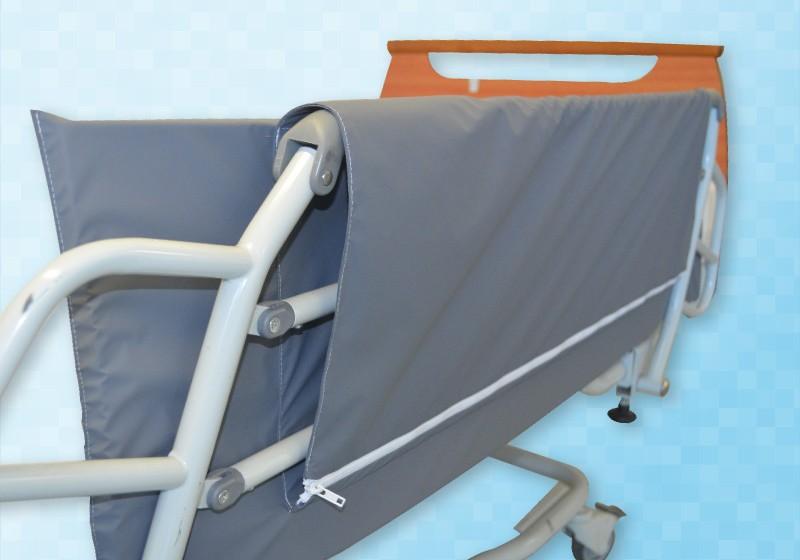 protection barri re de lit avec zip clinibed. Black Bedroom Furniture Sets. Home Design Ideas