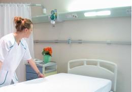 Matelas des infirmeries ou des centres d'accueil et de soins