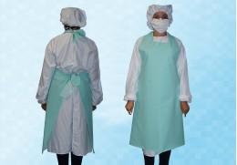 Tablier de protection décontaminable et lavable