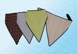 Bavoir foulard