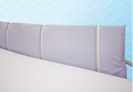 Protection en mousse pour barrière, tête et pied de lit