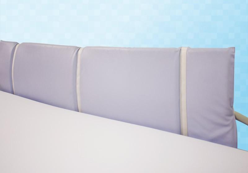 protection en mousse pour barri re t te et pied de lit m dical clinibed. Black Bedroom Furniture Sets. Home Design Ideas